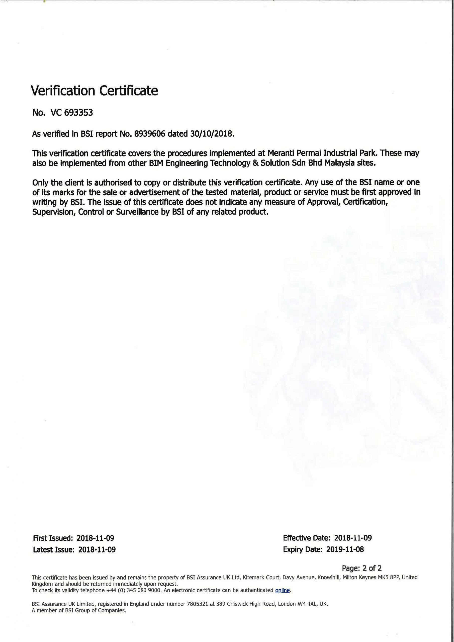 PAS 1192-2 2013 BSI VERIFICATION CERTIFICATE_Page_2